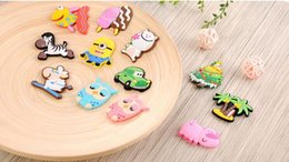 Wholesale Furniture Packages - DHL Cute animal Fridge Magnet colorful sticker for decoration fridge and furniture mix color 3.5cm