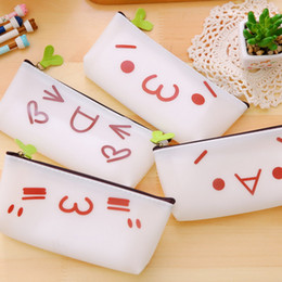 Wholesale Gel Makeup Bag - Wholesale- 2017 New Hot Women Silica Gel Makeup make up Case Pouch Cosmetic Bag Girls Toiletries Travel Organizer Clutch Bags Cute lovely