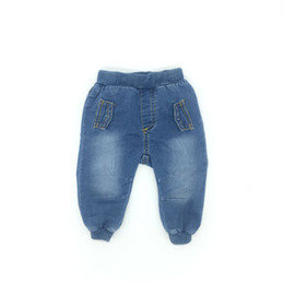Wholesale Good Quality Wholesale Fashion Clothing - Infant Clothes Boys Jeans Denim Fashion Solid Fake Pocket Good Quality 4M To 24M Baby Clothes