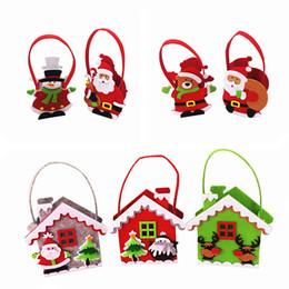 20шт Рождественский подарок мешок нетканые дети конфеты Яблоко подарок мешок в канун Рождества от