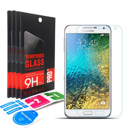 Wholesale 2 D Tempered Glass screen protector For Samsung Galaxy Express AMP Prime J7 J5 J3 A7 A5 A3 J7 V Sky Pro Perx J3 Luna Pro retail box