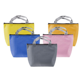 Wholesale Thermal Insulated Pouch - Waterproof Lunch Box Pouch Storage Bag Pocket Food Warmer Bag Portable Insulated Thermal Bag for Travel Picnic 21 * 10 * 21cm