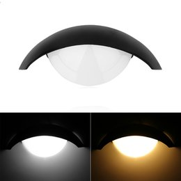 Wholesale Moon Room Wall Light - 5W Home Lighting Moon Shape LED Wall Light for Theater KTV Bar Showcase Restaurant Living Room Indoor Places Lamp