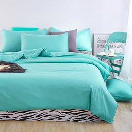 Wholesale zebra bedding king - Wholesale- Home Textiles,fresh green +zebra lines style bedding sets 3 4Pcs of duvet cover bed sheet pillowcase King queen full twin size