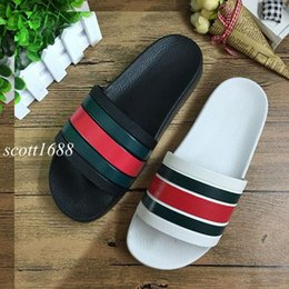 Wholesale Heel Fashion Slippers - 2017 bestselling mens fashion outdoor beach causal slide sandals male leather flat slippers size euro 40-45