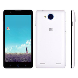 Wholesale Phone Inch Ram 1g - Original ZTE V5 5.0 Inch 1G RAM 4G ROM MSM8926 Quad Core Android 4.2 Unlocked Cell Phones Refurbished Smartphone