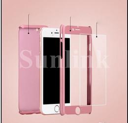 Cubierta protectora dura de la caja de la PC 360 dura dura de la PC 360 para el caso 6s del iPhone 7 7P Samsung S8 S8P