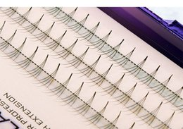 Wholesale Volume Hair Styles - 8-13mm Volume 4D Eyelash Extensions 0.07 Thickness Hair Mink Strip Eyelashes Individual Lashes Fans Lash Natural Style