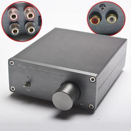 Wholesale Mini Home Amp - Freeshipping NEW Breeze Audio HiFi Class 2.0 Audio Stereo Digital Power Amplifier TPA3116 Advanced 2*50W Mini Home Aluminum Enclosure amp