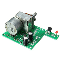 Wholesale Control Potentiometer - Freeshipping AC DC 9V Infrared Remote Control Volume Control Board ALPS Pre Potentiometer 80mmx 51mm New Electric Control Board