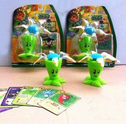 Wholesale Fly Abs - Plants vs Zombies Figure Toy ABS Plastic Shooting Toy - Flying Bloomerang