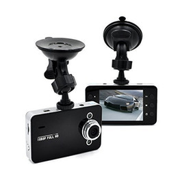 Wholesale Motion Dvr Sd Recorder - car DVR 2.4inch K6000 Full HD dash cam dashcam LED Night Recorder CAMCORDER PZ910 Parking monitoring Motion detection One key lock Cycle