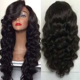 Wholesale Brazilian Full Lace Wigs Wholesale - ECHO 360 Lace Frontal Wig deep wave Lace Front human Hair Wig 180% Density Full Lace Human Hair Wigs Black Women