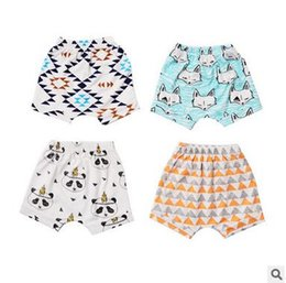 Wholesale Matching Underwear - New Arrival Baby Boy Girl Cute Printed Shorts Summer Baby Cotton Underwear Shorts Children Kids All Match Leggings Free Shipping