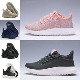Wholesale Eva 3d - 2017 With box Tubular Shadow Knit Running Shoes for men and women Tubular Shadow 3D 350 Sneaker sports Shoes boost Boosts sneakers 36-45