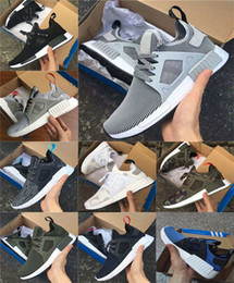 Wholesale White Gold Toe Socks - 2017 NMD Runner 3 III XR1 Camo x City Sock PK Navy NMD_XR1 Primeknit Running Shoes For Men Women Fashion Casual Shoes Trainers
