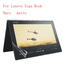 Wholesale Packaging Book - Wholesale- Matte Ultra-thin Explosion-Proof Anti Shatter Screen Protector Film for Lenovo Yoga Book 5pcs in 1 package