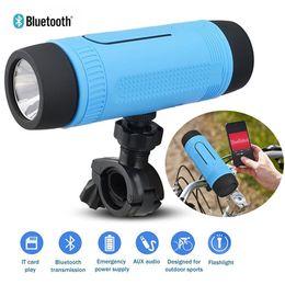 Wholesale Plastic Led Bracket - Portable Zealot S1 Bluetooth Speakers 4000mah Power Bank Rechargeable + LED Light for Outdoor Sport+Bike Mountian Brackets