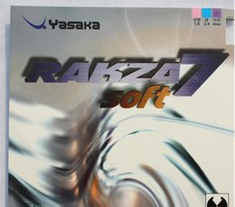 Wholesale Indoor Tennis - Yasaka rakza7 soft   rk 7 soft   R7 table tennis rubber pingpong rubber for table tennis racket blade   paddle bat indoor sports
