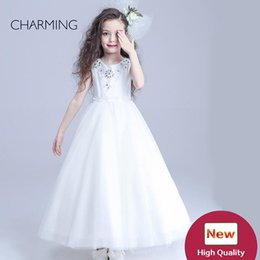 Wholesale Wedding Products China - girls gowns flower girl long dresses simple flower girl dresses high quality china wholesale products wholesale for resale girls gowns
