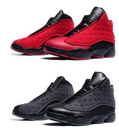 Peluche in nylon online-13 peluche di lana di alta qualità con scatola da uomo taglia pallacanestro spedizione gratuita scarpe con JUMPMAN