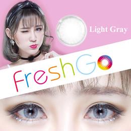 Wholesale Circle Glasses Wholesale - Hot Selling Glass Ball Color Contact Lenses Big Eye Circle Lens Ready Stock