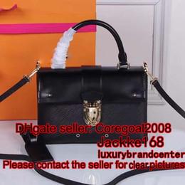 Wholesale Purse Handles Leather - ONE HANDLE FLAP BAG MM cross body womens satchel leather handbag shoulder Bag purse France L M43125 M51519 43125 40780 51519