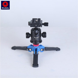 """Wholesale Monopod Support - Manbily M1 M2 Hydraulic Universal Three Feet Support Stand Base Monopod Stand for Monopod Ballhead with 3 8"""" screw"""