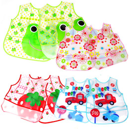 Wholesale- Baby Apron Bandana Dribble Bibs Waterproof EVA Scarf Bib Feeding Clothing Kerchief For Babies Girls Children Silicone Wholesale Coupon