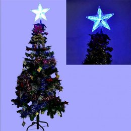 Color Changing Christmas Lights Outdoors: Wholesale- Multi-color Changing Xmas Christmas Tree Topper Star Light LED  Lamp Decorations Party Lights Christmas Outdoor Decor Light from  dropshipping ...,Lighting
