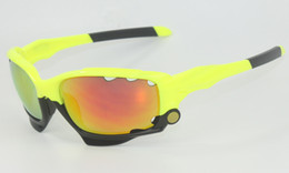 Wholesale Titanium Mountain Bike Frames - 2017 Brand Cycling Glasses 3 Lens Mountain Bike Goggles 28 Colors Cycling Sunglasses Racing Bicycle Glasses men Cycling Eyewear