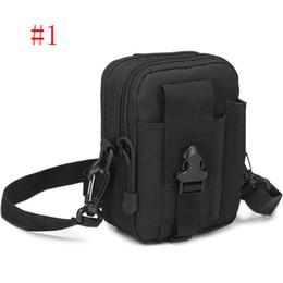 Wholesale Travel Belt Box - New Molle Military Tactical Waist Bag Men Casual Tactical Belt Loops Waist Bag Outdoor Travel Sport Waist Pack Smartphone Mobile Phone Case