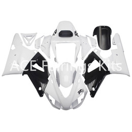 3 omaggi completi Carene complete per Yamaha YZF 1000-YZF-R1-98-99 YZF-R1-1998-1999 Kit carenatura completa per moto stile bianco vv20 da 1999 yamaha yzf r1 rivestimenti bianchi fornitori