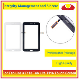 """Wholesale Touch Glass Tablets - 7.0"""" For Samsung Galaxy Tablet Lite 3 T113 Tablet Lite 4 T116 Touch Screen Digitizer Outer Glass Lens Panel"""