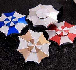 Wholesale Originals Umbrellas - Fidget Spinner Umbrella Resident Evil Five Colors Hand Spinner Original Design Gift for kids