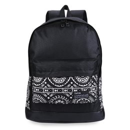 Wholesale Cavas Bags - Large capacity Mummy bag Cavas Baby outside nappy changing black backpack Mother Backpack Travel Bag for girls