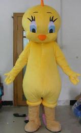 Wholesale Mascot Looney Tunes - 2017 Factory direct sale Tweety Looney Tunes Cartoon Character Animal Bird Mascot Costume