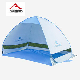 Wholesale Waterproof Pop Up Tents - Quick Automatic Opening beach tent sun shelter UV-protective tent shade waterproof pop up open for outdoor camping fishing