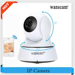 Wholesale Wanscam Wifi Camera - WANSCAM 720P Wireless IR Camera WiFi H.264 Indoor IP Security IR-Cut Night Version Indoor USB Charger P2P Surveillance Security Camera