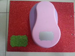 Wholesale Paper Punchers - Wholesale- free shipping 3 inch hang tag shape of eva foam punch DIY hole punches craft punch scrapbook puncher paper punchers