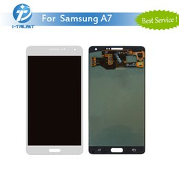 Wholesale Galaxy S3 Sale - Hot Sale 100% Tested High Quality LCD For Samsung Galaxy A7 10 PCS For Repair Replacement With Free DHL
