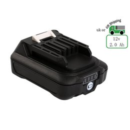 Wholesale Lithium Charger 12v - Rechargerble Lithium-Ion Battery for Makita BL1021B ( Note Fit for DC18RA Charger) 12V Max CXT 2.0 Ah Battery US stock