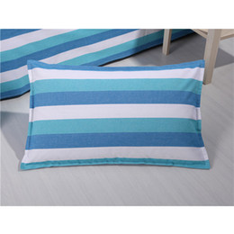 Wholesale Coarse Yarn - Bedding article coarse cloth Pillow case , Double bed simple style cotton Pillow case four seasons general, A variety of colors no1