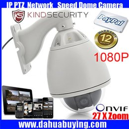 """Wholesale Ccd Zoom Camera - 7"""" waterproof Outdoor CCTV Security 1080P 2MP high Speed Dome PTZ IP Camera with 20X ZOOM 1080P high speed PTZ IP camera"""