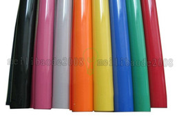 Wholesale Colors Vinyl - NEW 50x100cm Heat Transfer Vinyl With Sticky Back PU Transfer Vinyl From 33 Colors free shipping MYY