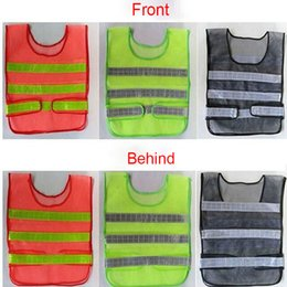 Wholesale Traffic Vests - 2017 Safety Clothing Reflective Vest Hollow Grid Vest High Visibility Warning Safety Working Construction Traffic Vest XL-A366