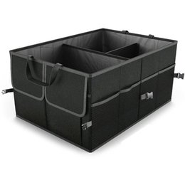 tool trucks Coupons - Black Collapsible Car Trunk Organizer Truck Cargo Portable Tools Folding Storage Bag Case Space Saving Auto Boot Organiser