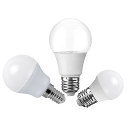Wholesale Led A19 Light Bulbs - 2017 new products 5W 7W 9W 12W A60 A19 LED bulb light E27 E26 led bulb 6000k 3000k CE ROHS SAA UL Approval