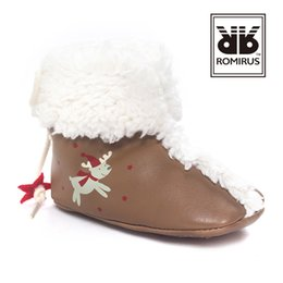 Wholesale Fringe Heels - 2017 Winter Christmas warm Baby girl boots lamb wool baby shoes infants soft Leather toddler first walker shoes quality fast shipping