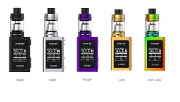 Wholesale E Tanks - Original Smok QBOX Starter Kits TFV8 Baby Tank and 50w QBox Vape Mod with V8 Baby M2 Coils 100% e cigs Smok Kits